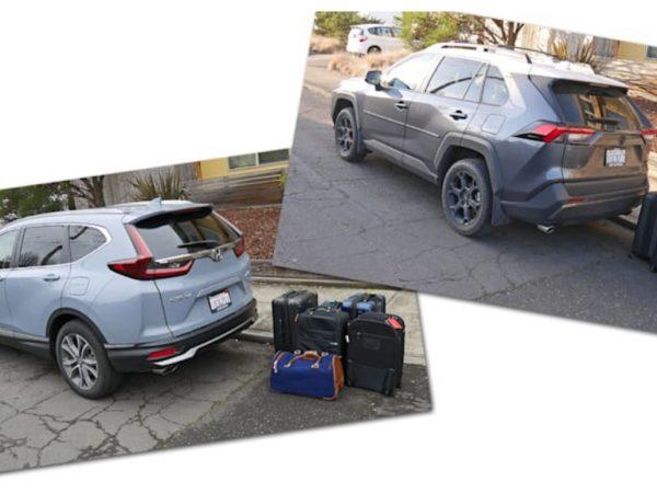 2020 Honda CR-V vs 2020 Toyota RAV4 ทดสอบสัมภาระ   พลิกคว่ำสินค้าบรรทุกแบบครอบครัว!