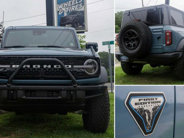 2021 Ford Bronco First Edition จดทะเบียนในราคา $150,000 บน eBay