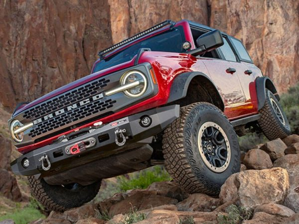 Warn มีกันชนกว้านออฟโรดใหม่สำหรับ Ford Bronco ใหม่!Warn Has New Off-Road Winch Bumpers Available For the New Ford Bronco!