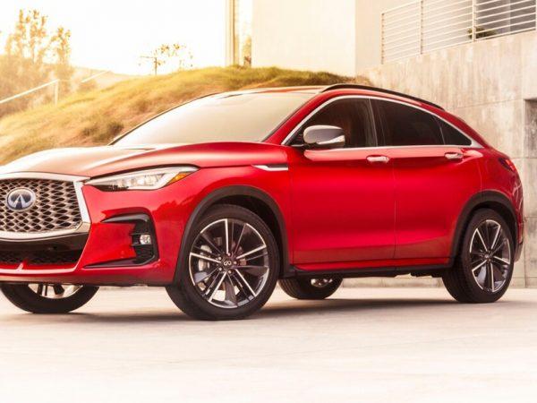 2022 Infiniti QX55 Coupe-UV Thing ราคามากกว่า QX50 มีพื้นที่น้อยกว่า