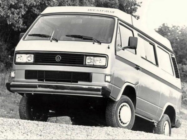 Volkswagen T3 Syncro:4×4 คลาสสิกที่สมควรได้รับความสนใจมากขึ้น