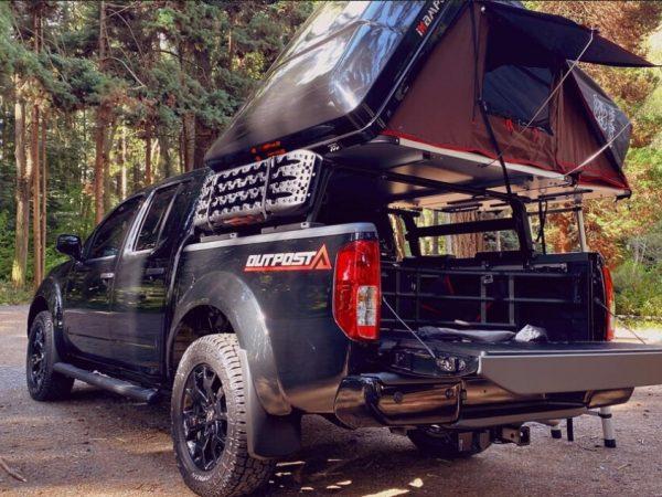Nissan Frontier Outpost Camper Truck นี้เป็นแท่นขุดเจาะ Overlanding ราคาไม่แพงอย่างน่าตกใจ