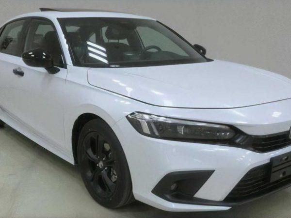 Honda Civic 2022 หลุดในประเทศจีน