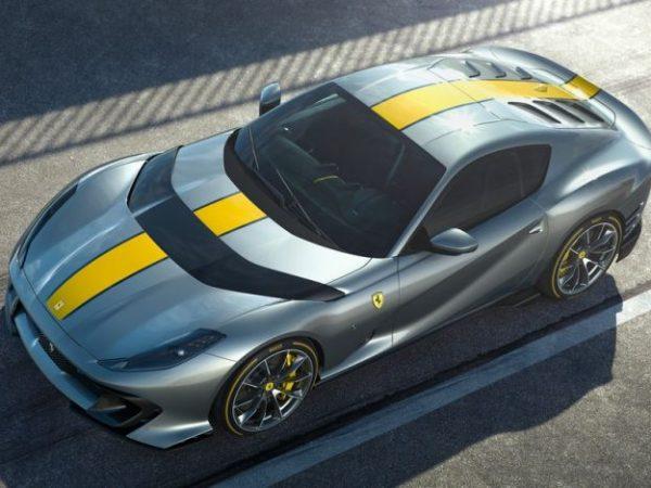 Ferrari เปิดตัว 818 แรงม้า V12 สำหรับ Limited Edition 812 Superfast
