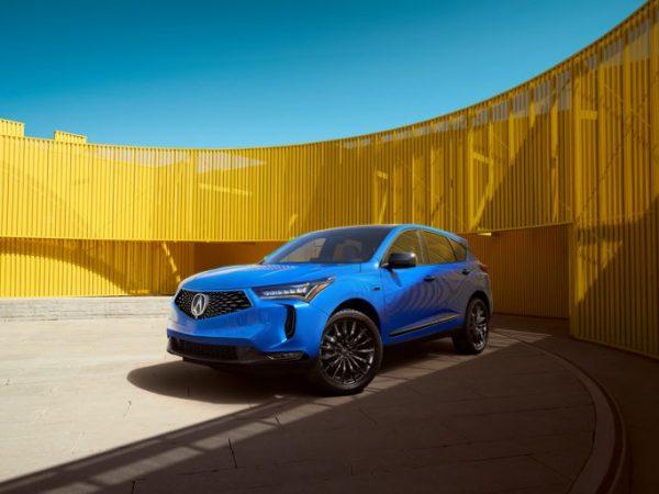 2022 Acura RDX: การรับน้อง