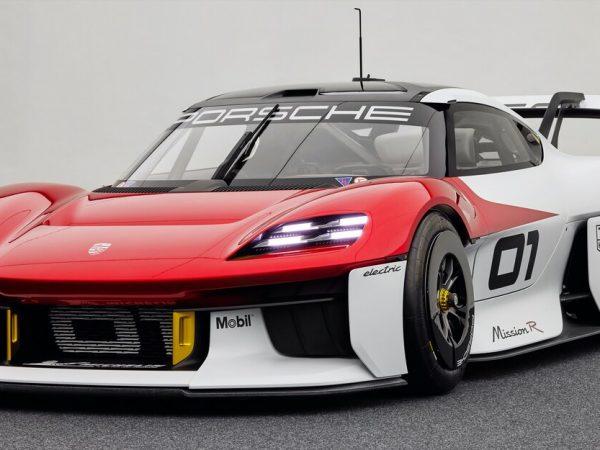 Porsche Mission R Concept โฉมแรก: Speed Racer