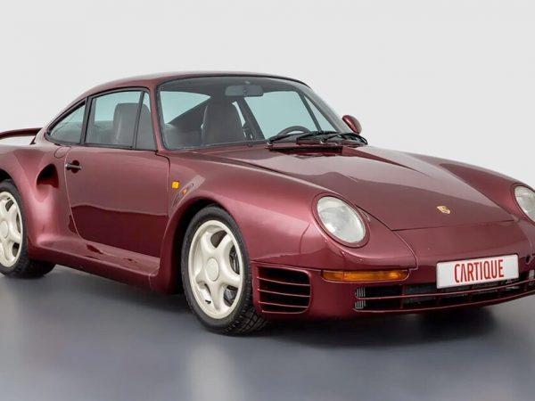 Porsche 959 Prototype หายากสุดๆ พร้อมขายแล้ว