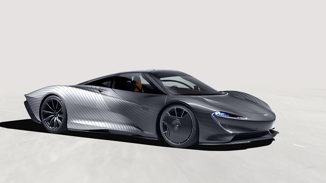 McLaren Speedtail 'Albert' มีงานสีที่คุณต้องดูอย่างแน่นอน