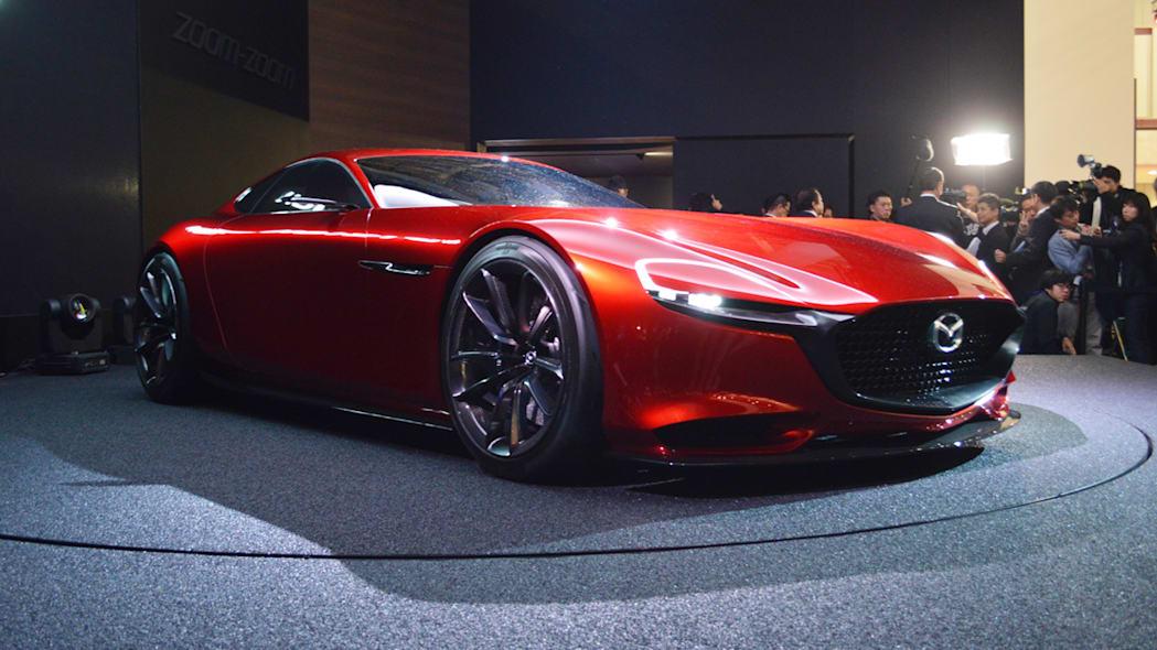 Mazda กำลังพัฒนาเครื่องยนต์โรตารี่ที่เผาไหม้ด้วยไฮโดรเจน