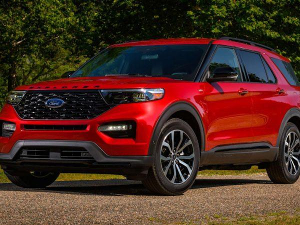 2022 Ford Explorer ST ขับเคลื่อนล้อหลัง, ST-Line มาพร้อมรูปลักษณ์