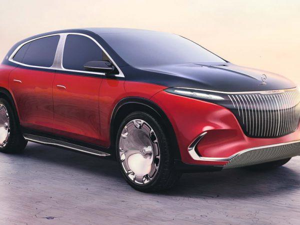 Mercedes-Maybach EQS Concept อวดอนาคต SUV ของแบรนด์เรือธง