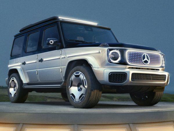 Mercedes-Benz Concept EQG ทำให้ความฝันของชวาร์เซเน็กเกอร์เป็นจริง